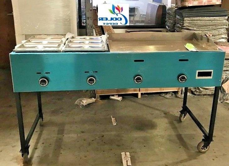 new 66 taco grill griddle cart comal