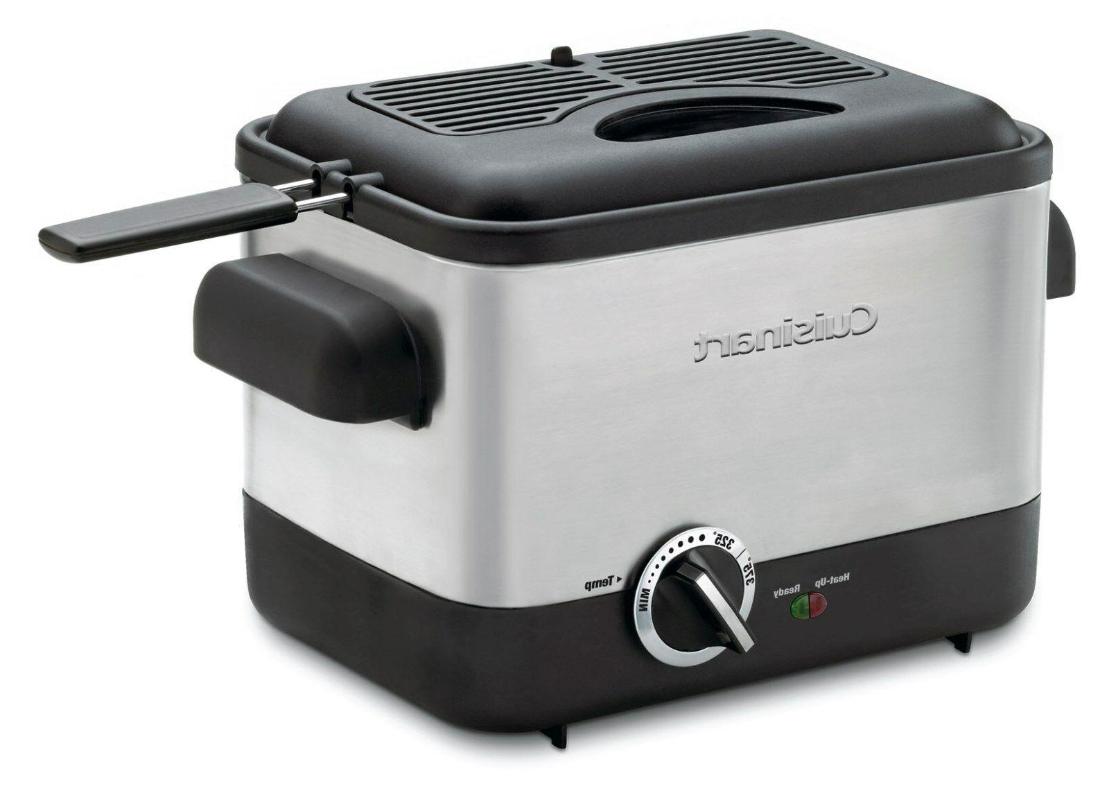 new cdf 100 compact deep fryer