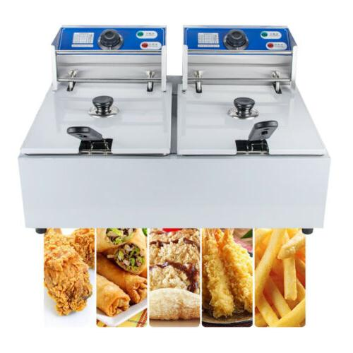 USA 11L Deep Fry Stainless Steel