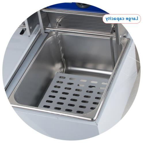 USA 11L Electric Deep Fryer Commercial Fry Stainless Lid