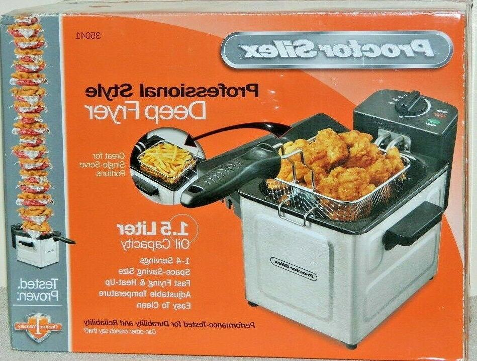 new professional style electric deep fryer 35041