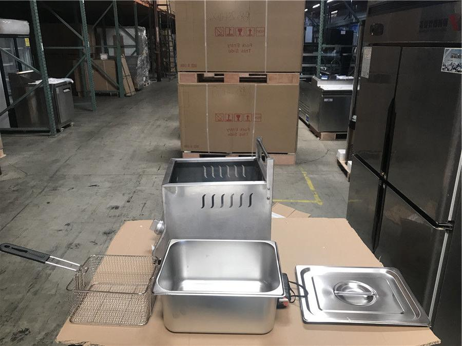 NEW Single Basket Deep Fryer FY9 Propane Use Counter Top