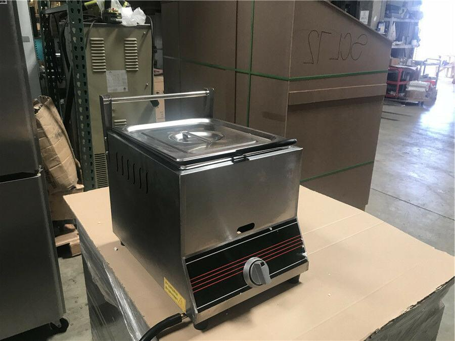 NEW Single Basket Deep Fryer Propane Use Top
