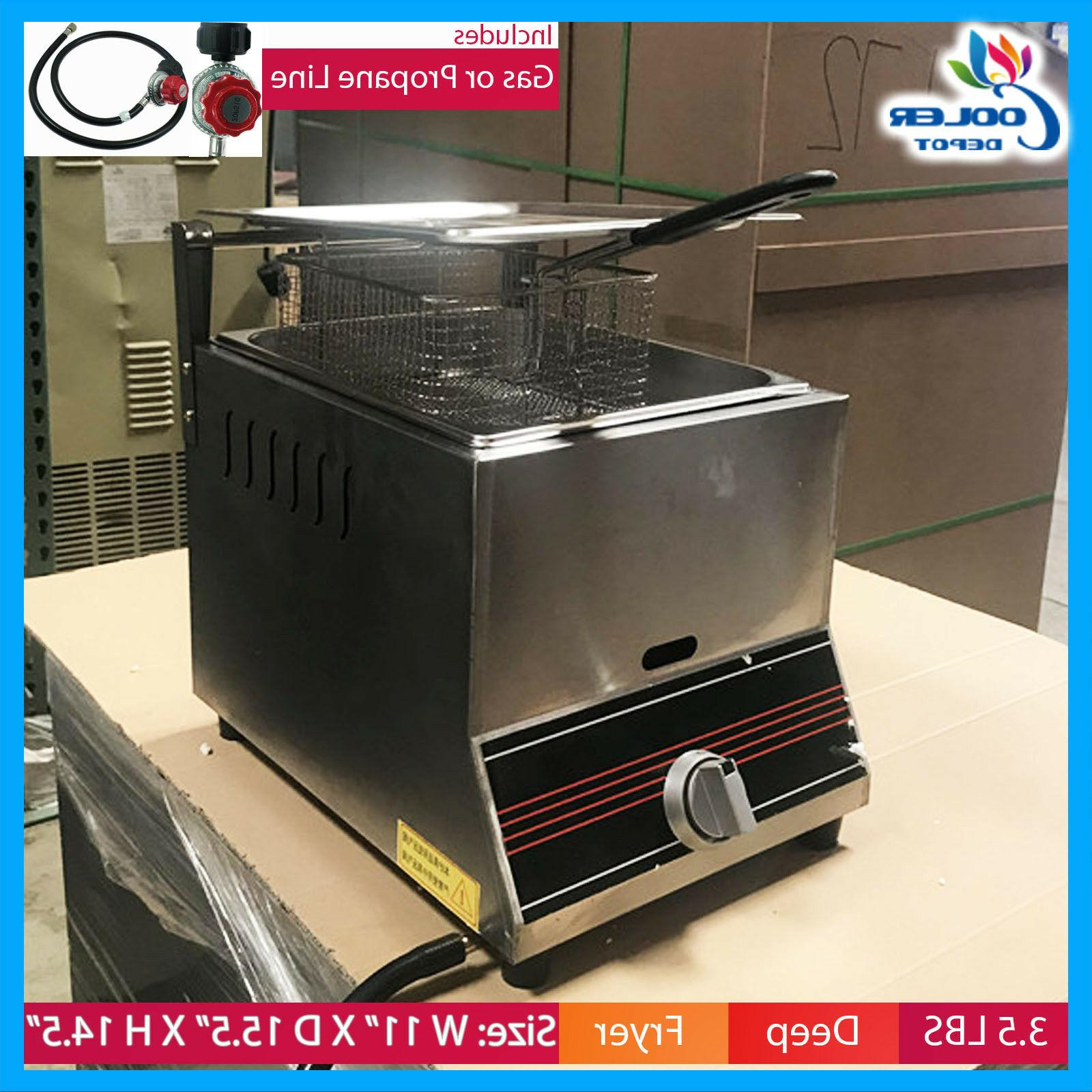 new single basket commercial deep fryer model