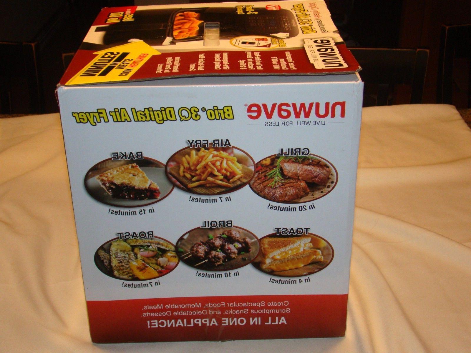 NuWave 3QT Electric Cooking Digital Air Deep