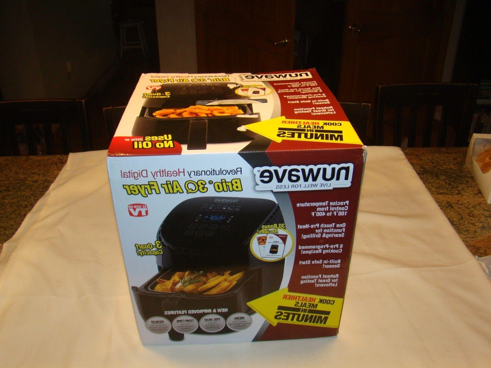 nib 3qt electric cooking kitchen digital air