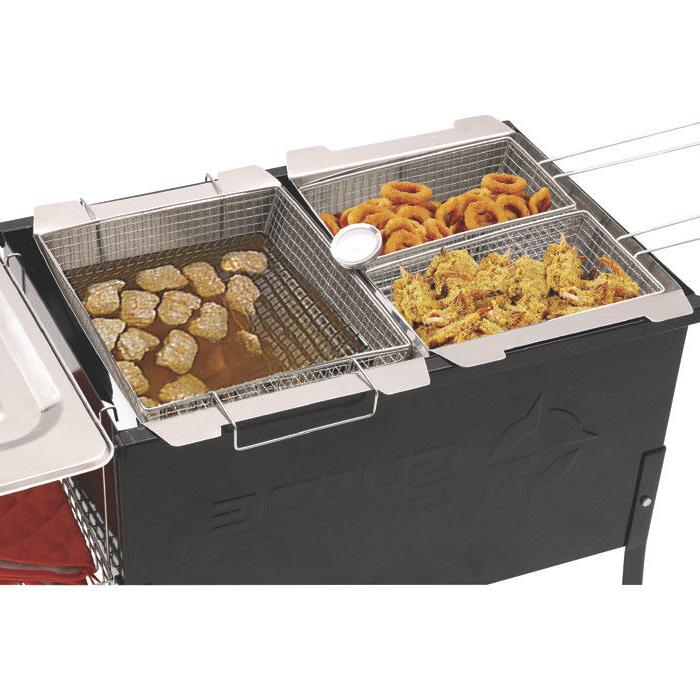 Outdoor Triple Deep Fryer Camping Events New