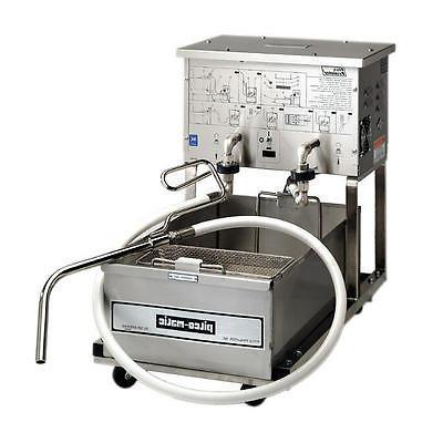 p14 portable 55lb capacity deep fryer oil