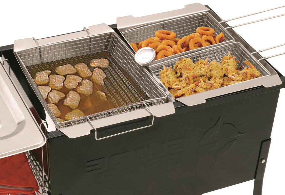 Portable 3 Fryer 2 Fry Cooker