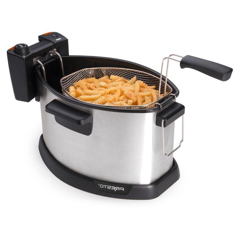 Presto Electric Rotisserie Turkey Fryer Home Cooking