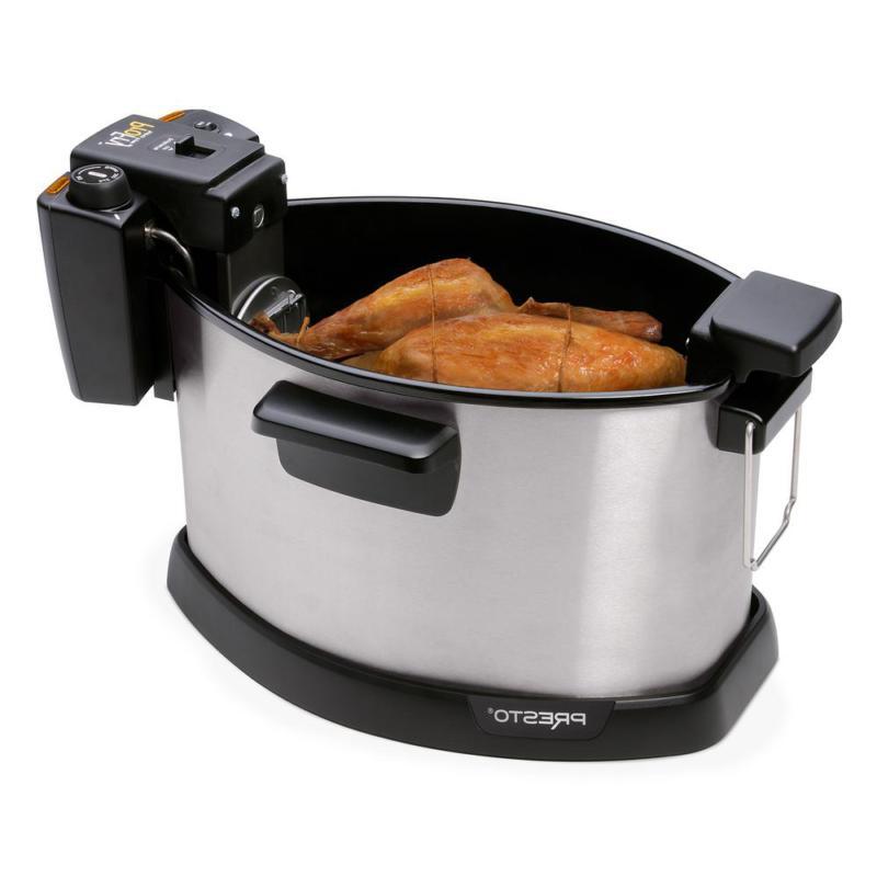 Presto Pro Rotisserie Turkey Home Kitchen Cooking