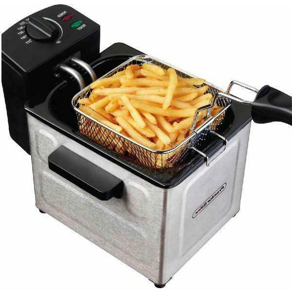 Deep Fryer Proctor Silex  Easy to clean  stainless steel Bra