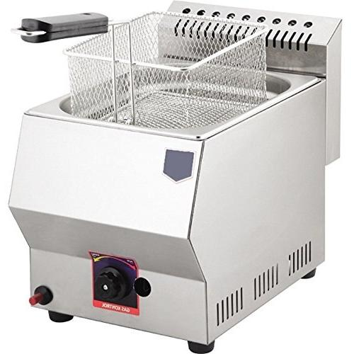 NATURAL PROPANE Commercial Catering 5 LT. Stainless Steel