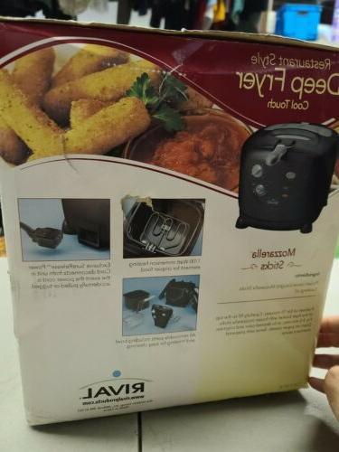 Rival Watt Deep Liter Dishwasher Safe CZF530 Black