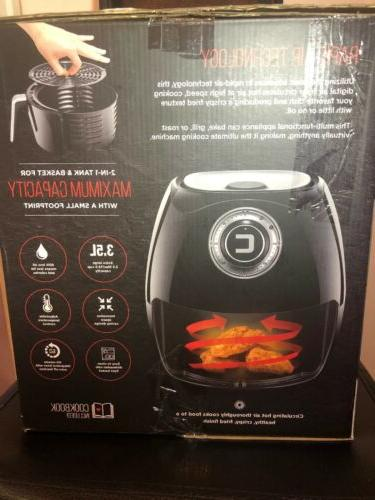 Chefman RJ38-V2-35 Express Air Fryer Black