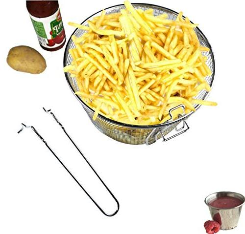 """9"""" Deep Wire French Chip Frying Tableware Fit For 5/6L"""
