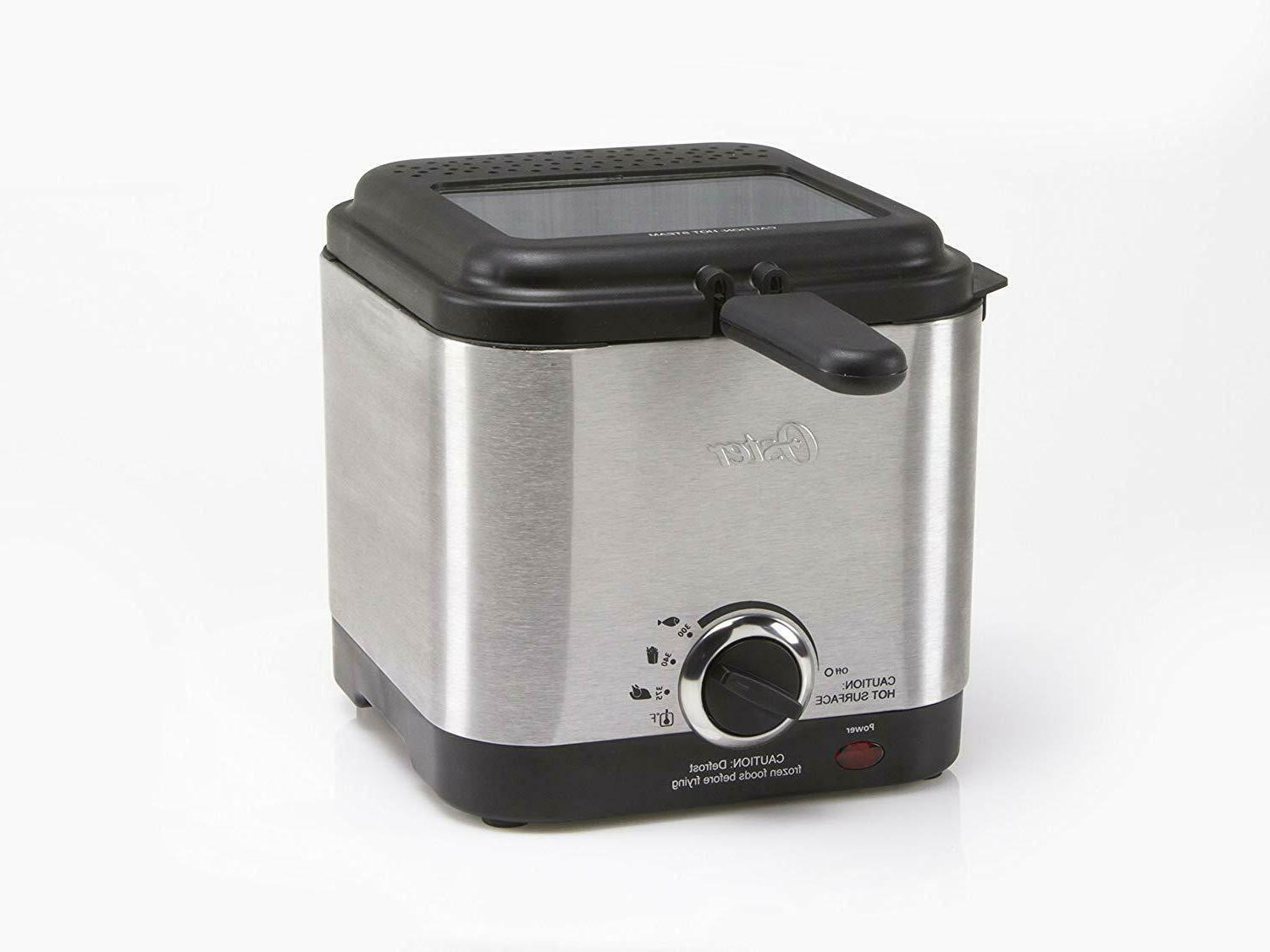 Deep Fryer Electric Small Stainless