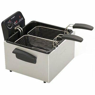Presto Dual Basket Fry Element Deep Fryer -