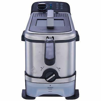 Deep Fryer Large Liter With Filtration System