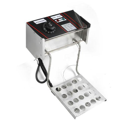 Stainless Dual Fryer W/