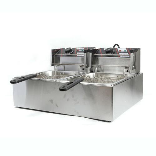 Stainless Steel Electric Dual