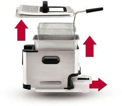 T-Fal Fryer Clean Automatically Permanent Filter