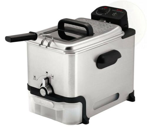 T-fal Fryer with Basket, Stainless to Clean