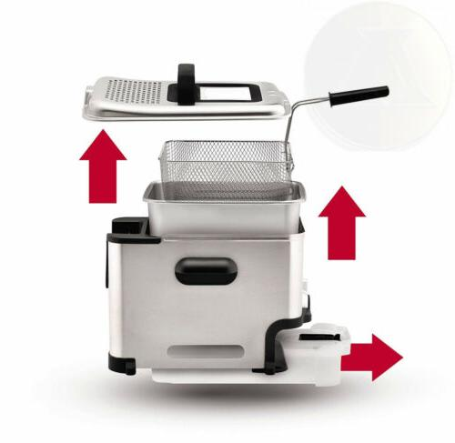T-fal Deep Basket, Stainless to Oil...