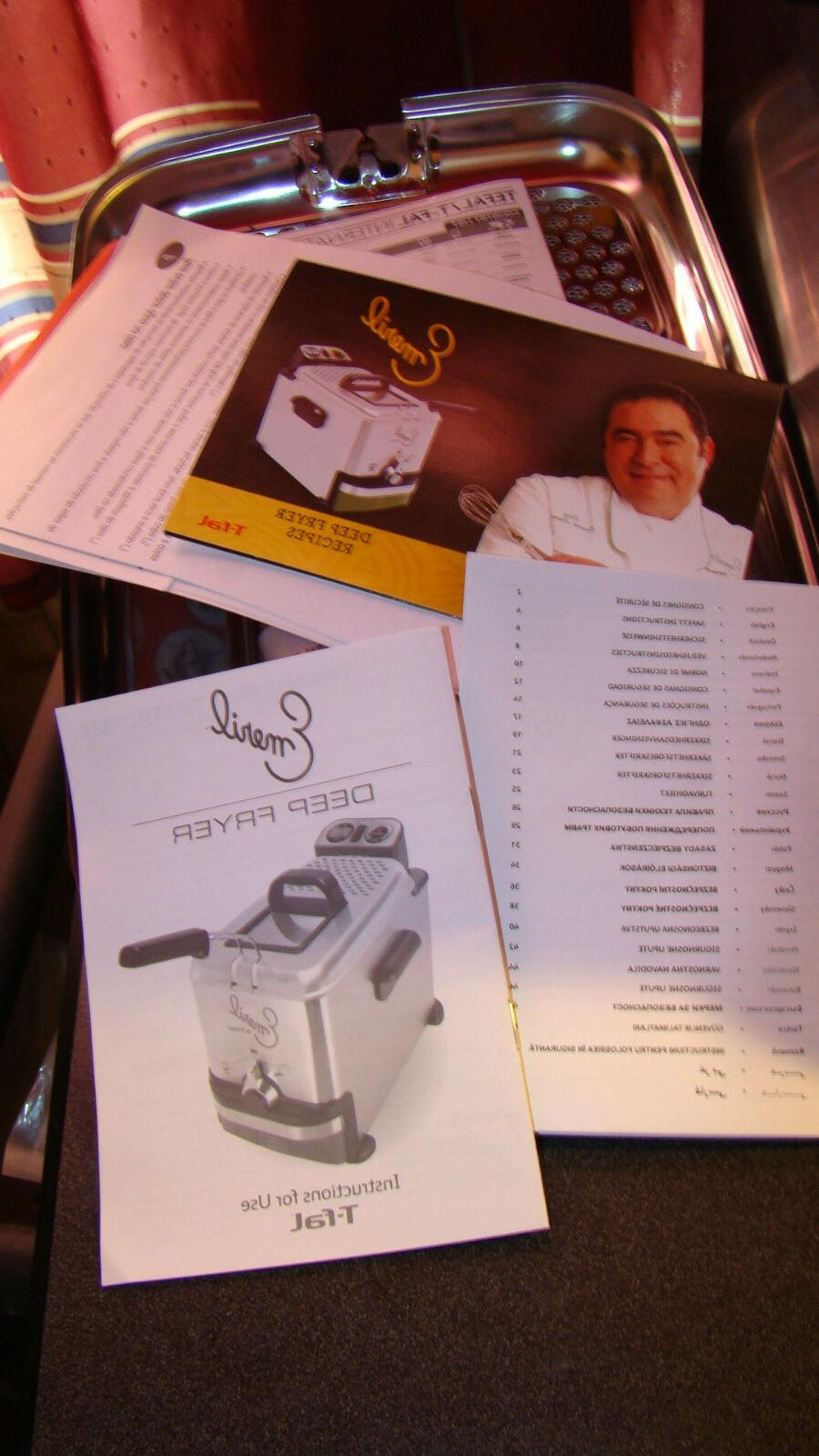 T Fal Fryer Stainless 1700