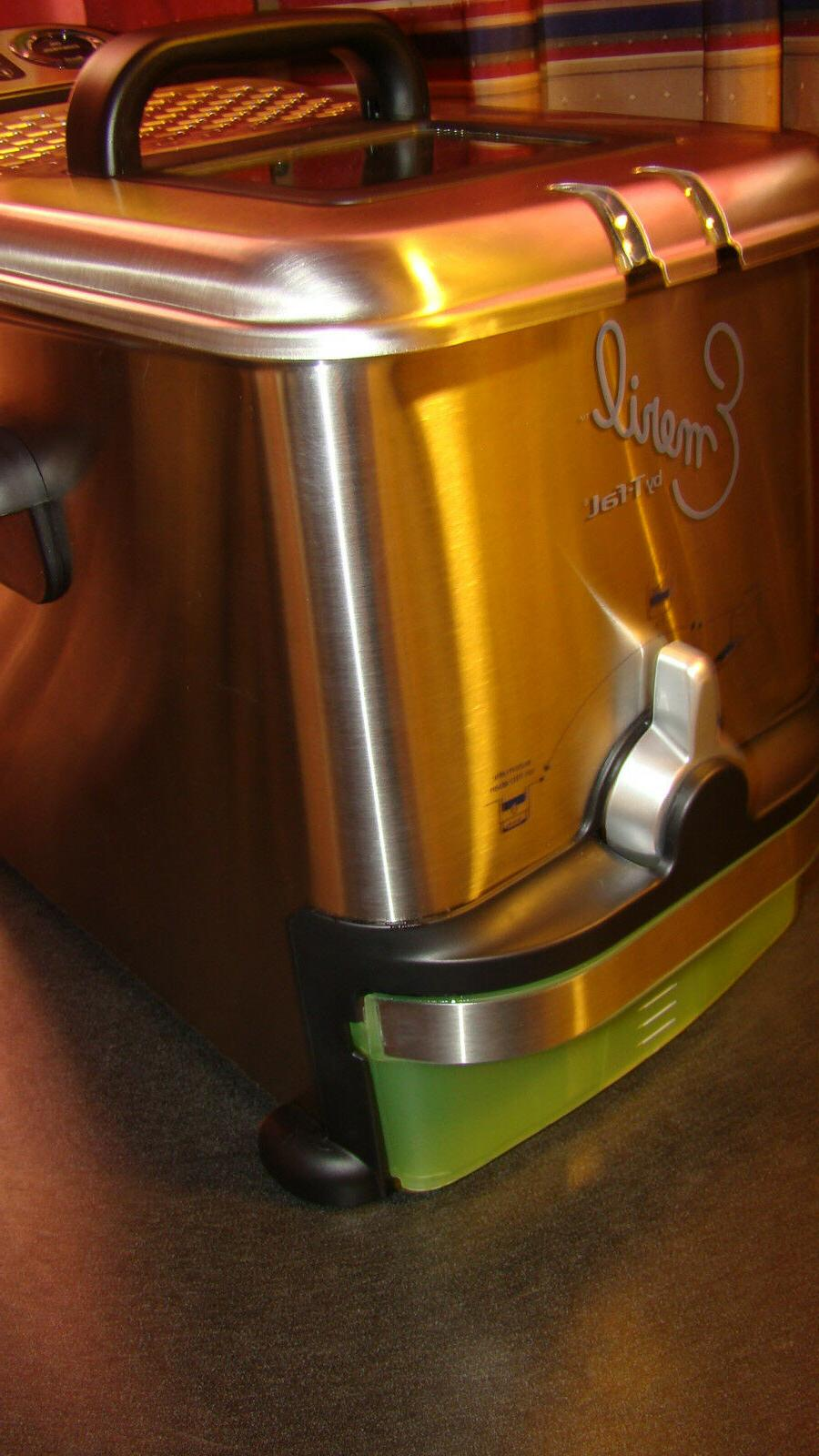 T Electric Deep Fryer Stainless