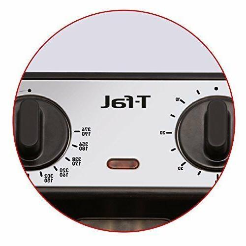 T-fal FR4049 Electric Fryer Dishwasher Safe Snack