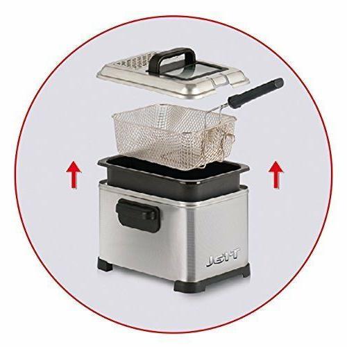 T-fal FR4049 Deep Fryer Safe Snack 3L Kitchen