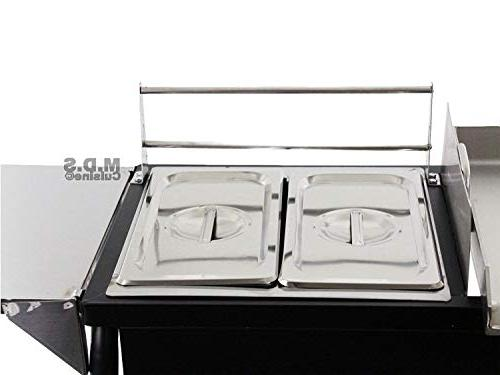 Ematik Cart Griddle 18x16 Double Deep All 3 1