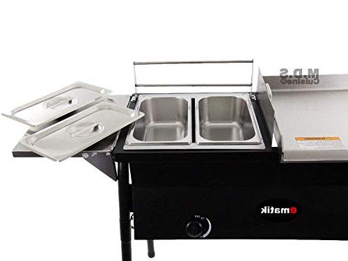 Ematik Taco Double Deep Stove All 3