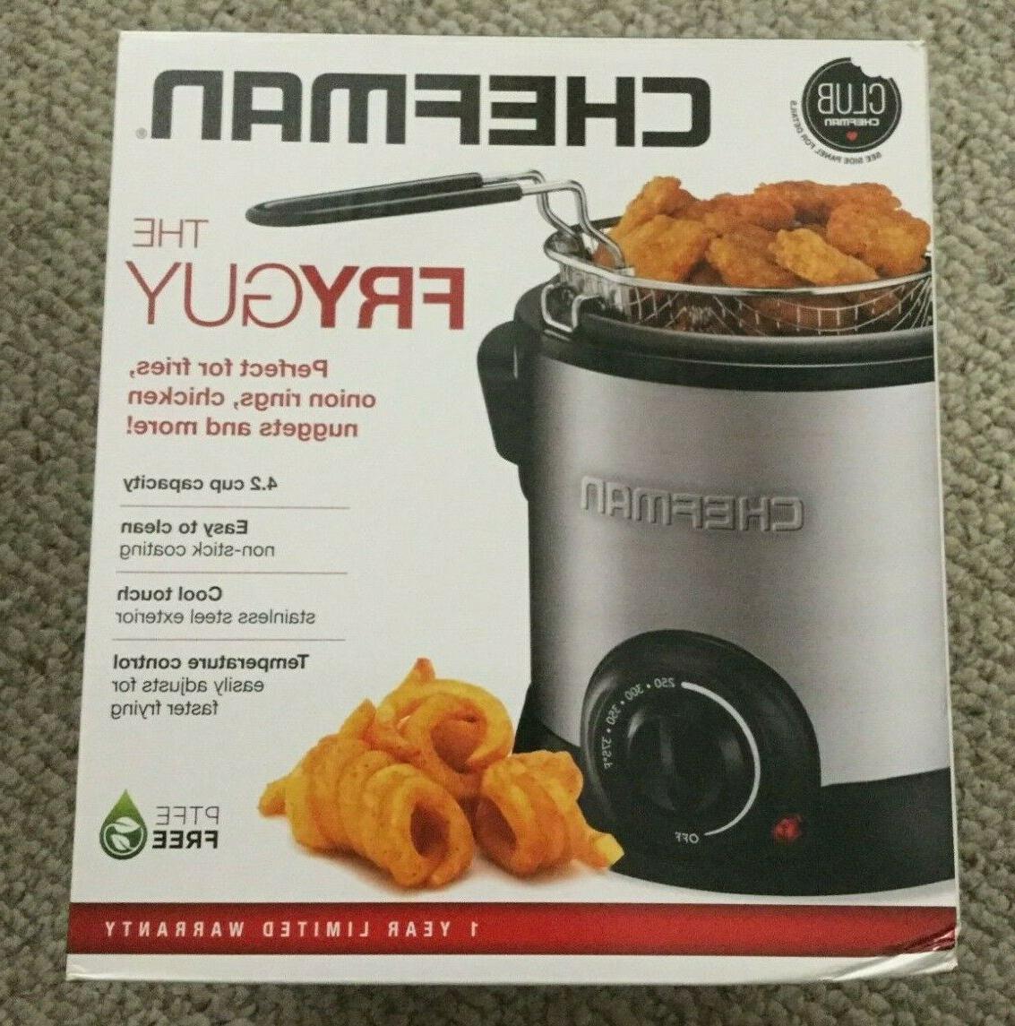 the fryguy 4 2 cup deep fryer