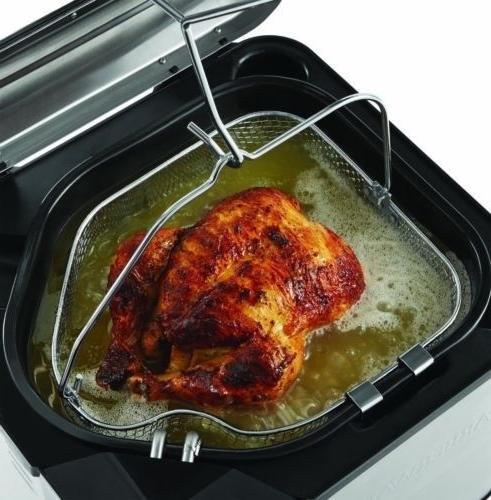 turkey fryer xl stainless steel electric deep