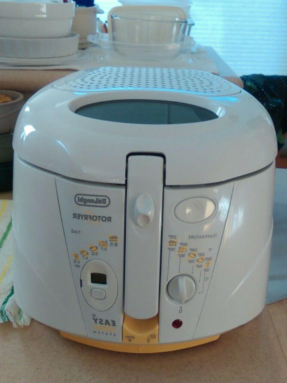 white rotofryer f 895 electric deep fryer