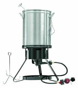 Masterbuilt MB20020107 30 quart Propane Turkey Fryer Kit