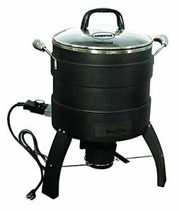 Masterbuilt MB23010809 Oil Free Roaster Electric Fryer, Blac