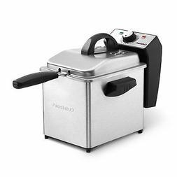Mini Deep Fryer 2qt Stainless Steel Electric Hot Oil Fryer C