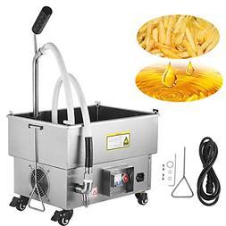 VEVOR Mobile Fryer Filter 44LB. Capacity Oil Filtration Syst