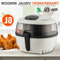 Multi-function Electric Deep Fryer Oil-Less Low Fat Red Air