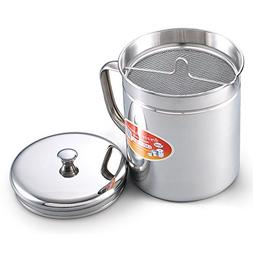 Neway NC00275 1.5-Quart Stainless Oil Storage