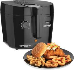 NEW Presto 05442 CoolDaddy Cool-touch Deep Fryer_Color: Blac