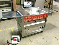 NEW 40L Propane Deep Fryer w/ Thermostat or Natural Gas Wide