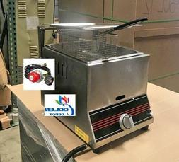 NEW Single Basket Commercial Deep Fryer Model FY9 Propane G