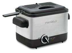 New Cuisinart CDF-100 Compact Deep Fryer