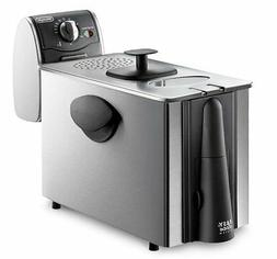 NEW DeLonghi D14522DZ Dual Zone 4 Liter Deep Fryer FREE SHIP