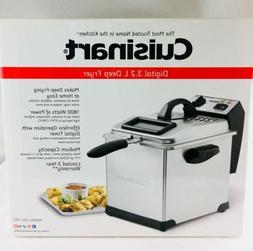 NEW Cuisinart Digital 3.2-Liter Deep Fryer