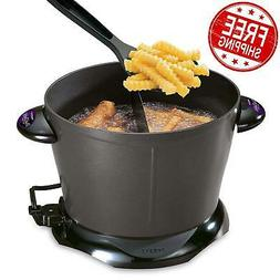 NEW! Presto Electric Deep Fryer Dual Daddy Cooker Home Kitch
